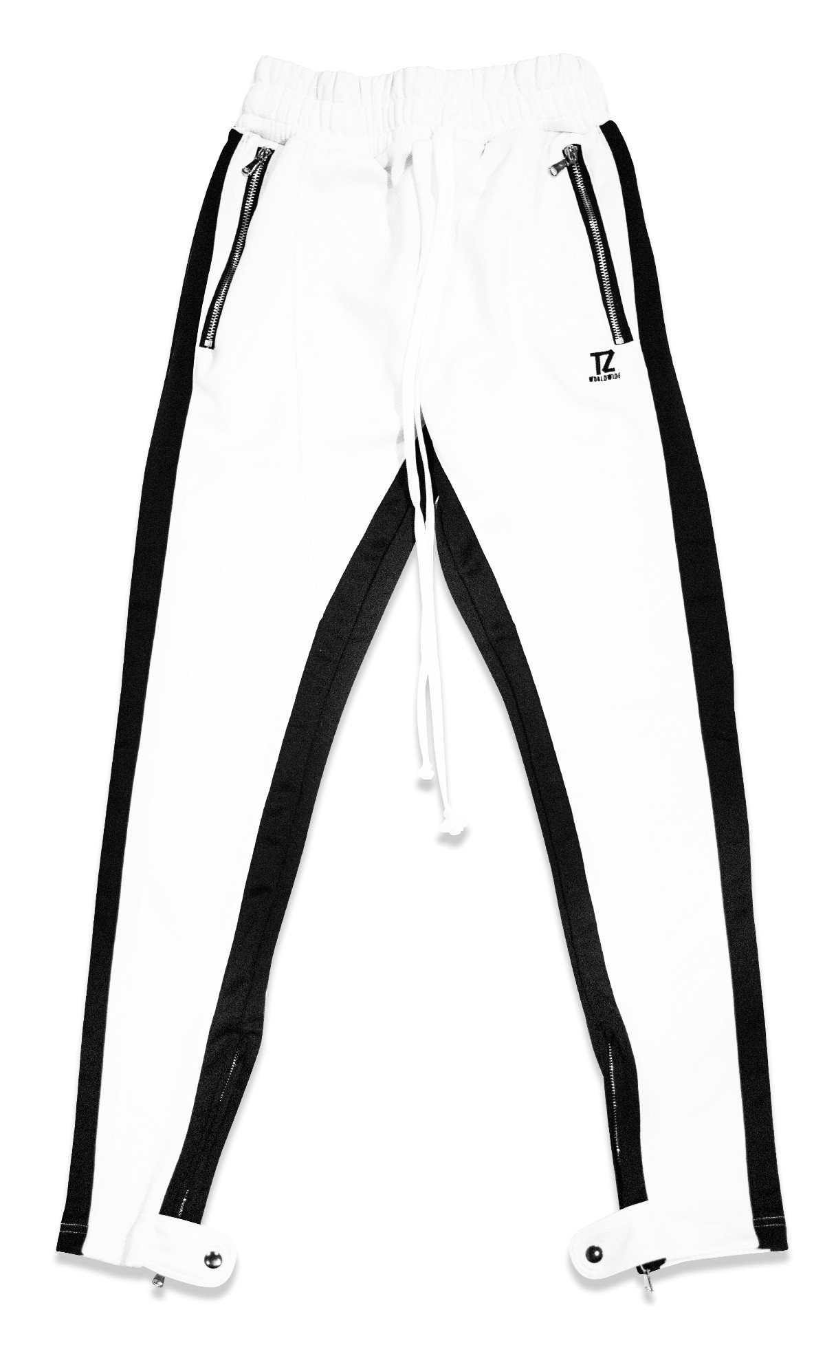 999a05728 TZ TRACK PANTS V2 (WHITE/BLACK)